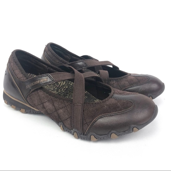 Atlético emocional Cuarto  Skechers Shoes | Skechers Sneakers Elastic Mary Jane Leather Shoes |  Poshmark